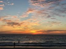 Brighton beach sunset 2018